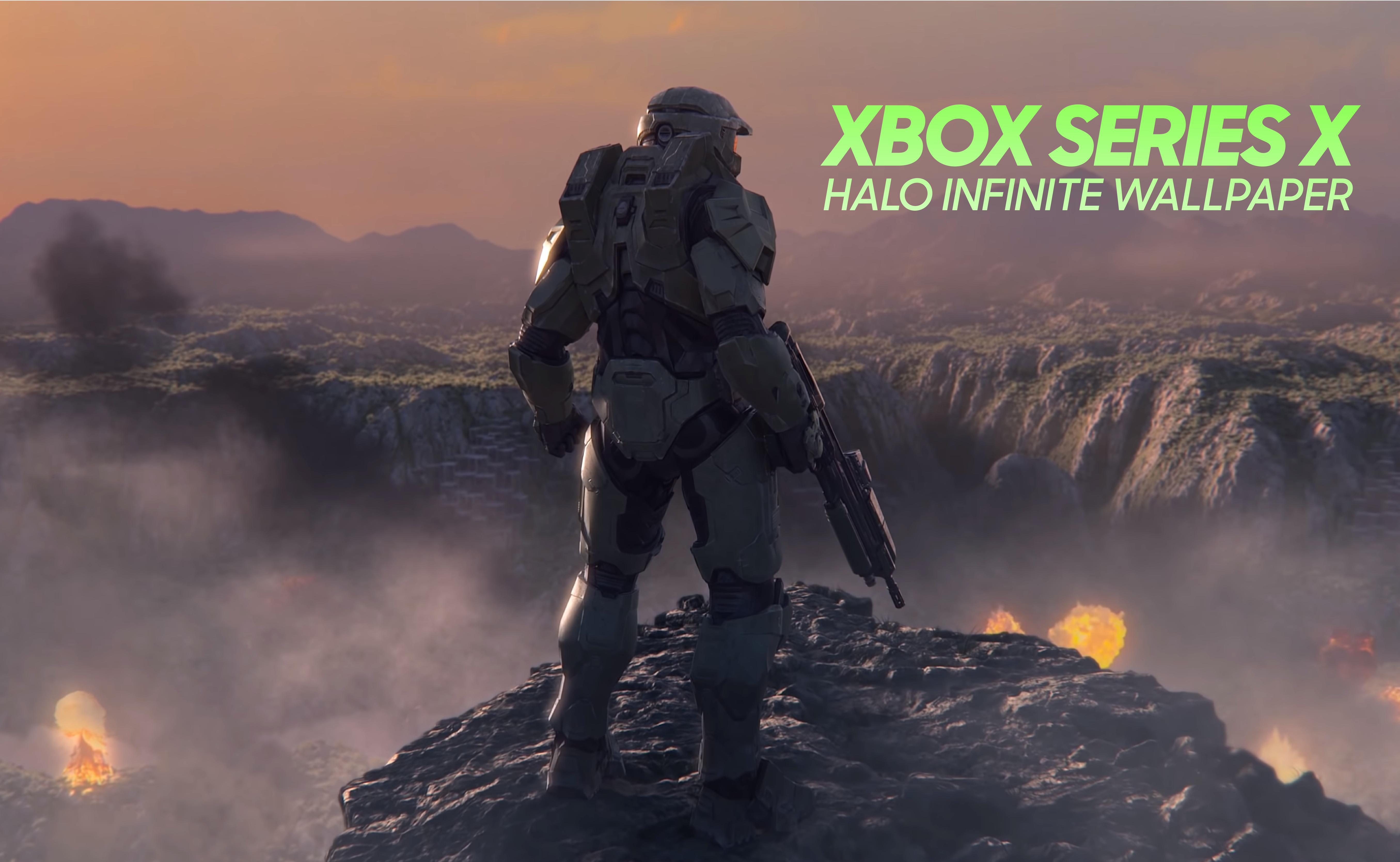 Xbox Series X Halo Infinite Clip 4k Wallpapers Halo United